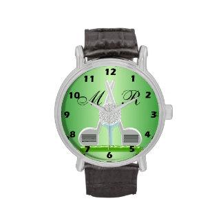 Monogrammed Golf Wristwatch