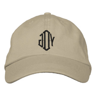 Monogrammed Hat Embroidered Hats
