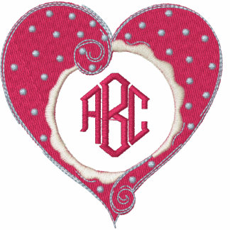 Monogrammed Heart