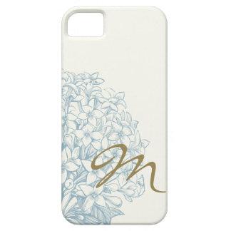 Monogrammed Hydrangea iPhone SE/5/5s Case