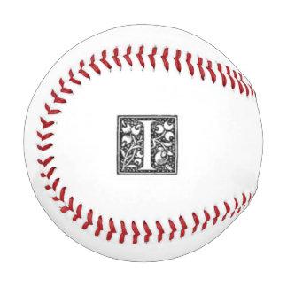 Monogrammed I Baseball