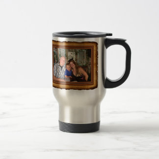 Monogrammed Initials Mug with YOUR PHOTO