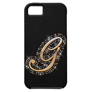 Monogrammed iPhone 5 Vibe Case - Letter G iPhone 5 Cover