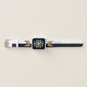 Monogrammed Apple Watch Bands Zazzle