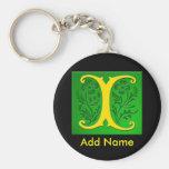 Monogrammed Keychain