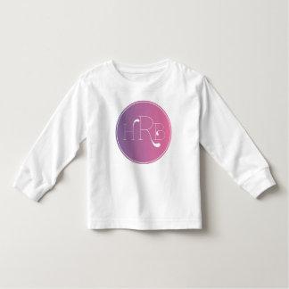 Monogrammed Long Sleeve Toddler T shirt