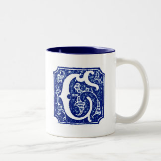 Monogrammed Mug - Letter C