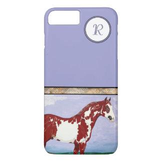 Monogrammed Overo Paint Horse iPhone 8 Plus/7 Plus Case