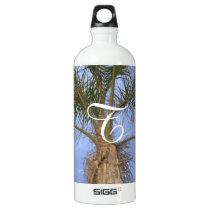Monogrammed Palm Tree Bottle