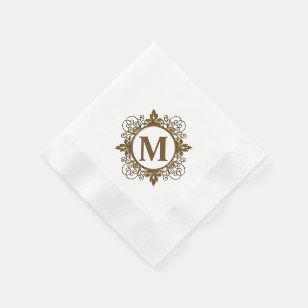monogrammed paper napkins Visit the knot shop for monogrammed napkins we have personalized paper  cocktail napkins, luncheon napkins and dinner napkins.