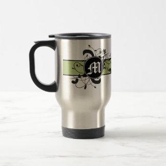 Monogrammed Personalized Fancy Flourish Mug