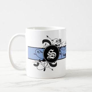 Monogrammed Personalized Victorian Flourish Mugs