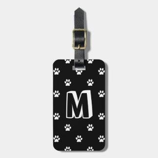 Monogrammed Pet Luggage Tag