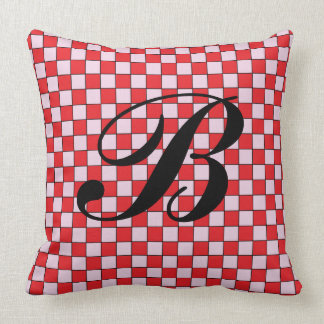 Monogrammed pillows with your custom letter