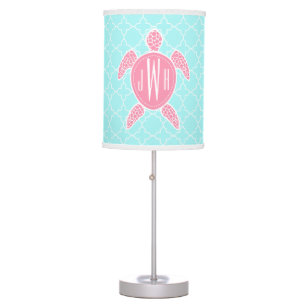 Pink Turtle Table Pendant Lamps Zazzle
