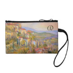 Monogrammed Provence Key Coin Clutch Coin Purse