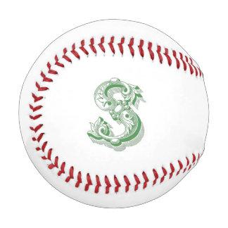 Monogrammed S Baseball
