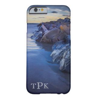 Monogrammed Silky Ocean Jetty iPhone 6 Case