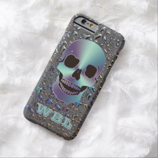 Monogrammed Skull on Oily LOOK iPhone 6 Case