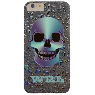 Monogrammed Skull on Oily LOOK iPhone 6 Plus Case