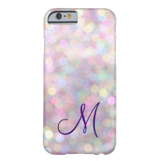 Monogrammed Sparkle iPhone 6 Case