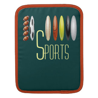 Monogrammed Sports Sleeves For iPads