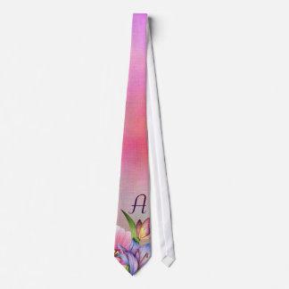 Monogrammed Spring Bouquet Tie