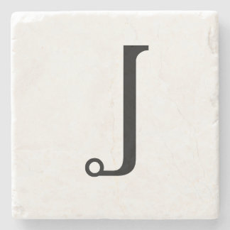 Monogrammed Stone Coasters