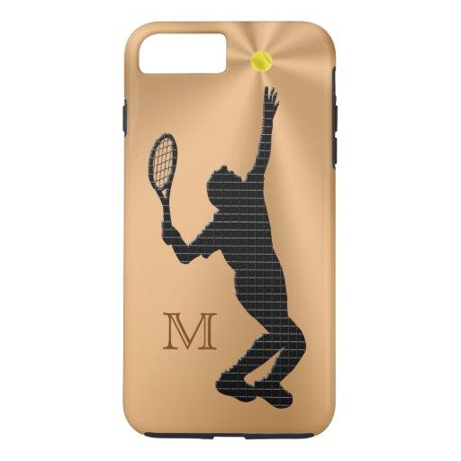 Monogrammed Tennis iPhone 7 Case for Men   Zazzle