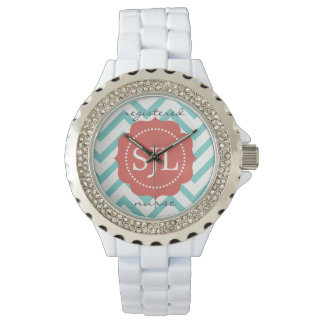 Monogrammed Title Watch