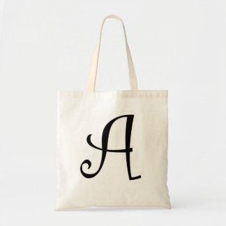 Monogrammed Tote Bag - Curlz A