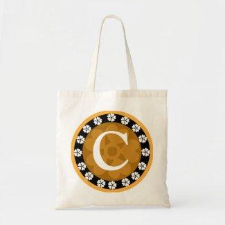 Monogrammed tote bags bag