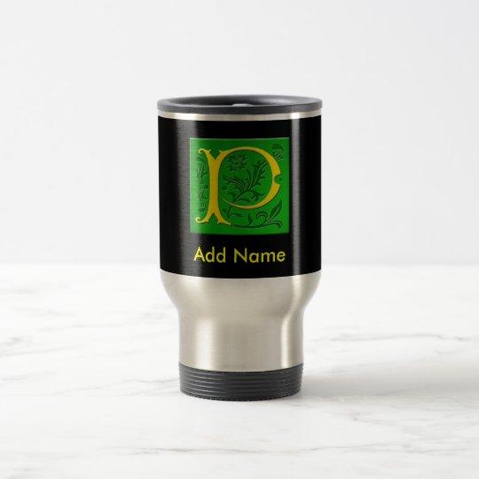 Monogrammed Travel Mug