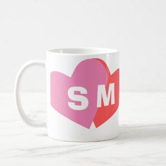Monogrammed Valentine's Day Sweetheart Coffee Mug