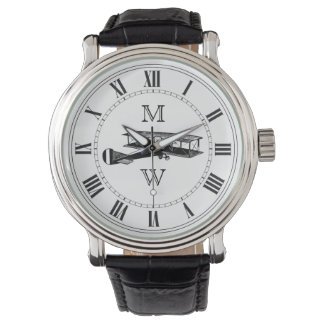 Be sure to check out Zazzle's great collection of Father's Day gifts, like these men's monogram watches.