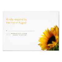 Monogrammed Wedding Response Card