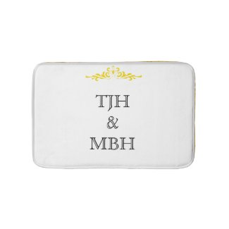 Monograms Bath Mat