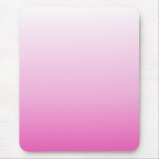 monograms blush pink magenta cherry blossom pink mouse pad