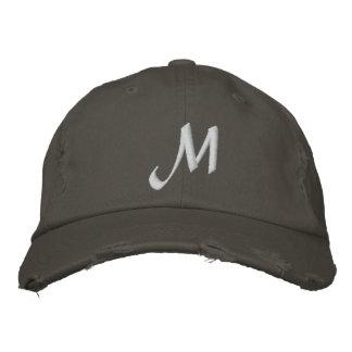 MONOGRAMS EMBROIDERED BASEBALL CAP