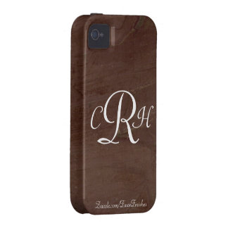 Monograms Faux Finishes Patterns Vibe iPhone 4 Covers