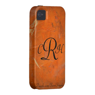 Monograms Faux Finishes Patterns iPhone 4/4S Case