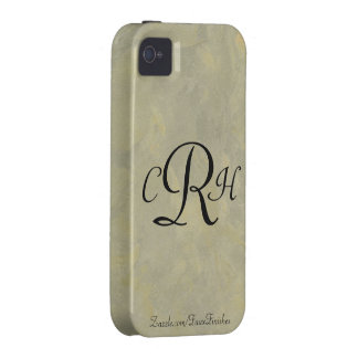 Monograms Faux Finishes Patterns iPhone 4/4S Cases