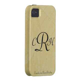 Monograms Faux Finishes Patterns iPhone 4 Covers