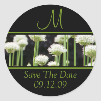 Monograms For Weddings Save The Date Stickers
