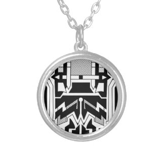Monolith Silver Plated Necklace