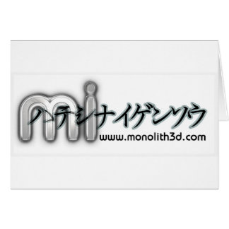 Monolithic Illusions Card