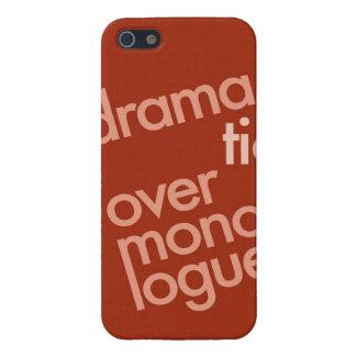 """""""Monólogo excesivo dramático """" iPhone 5 Carcasas"""