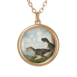 Monolophosaurs on the Hunt Jewelry