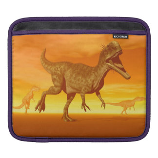Monolophosaurus dinosaurs- 3D render Sleeve For iPads