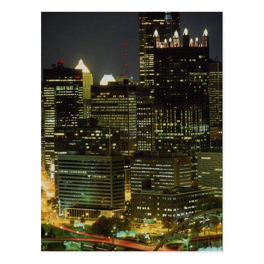 Monongahela River and Fort Pittsburgh Bridge, Penn Postcard